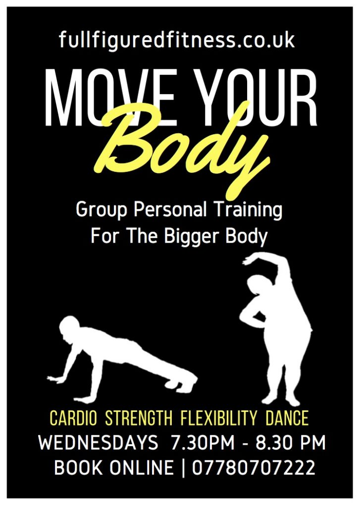 move your body group personal training for the overweight or obese
