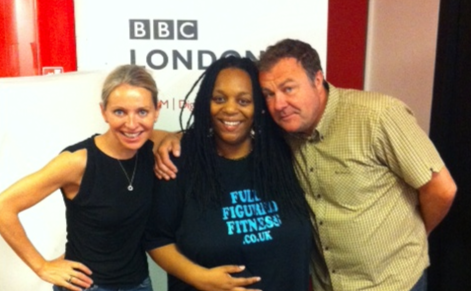 Full Figured Fitness at BBC Radio London