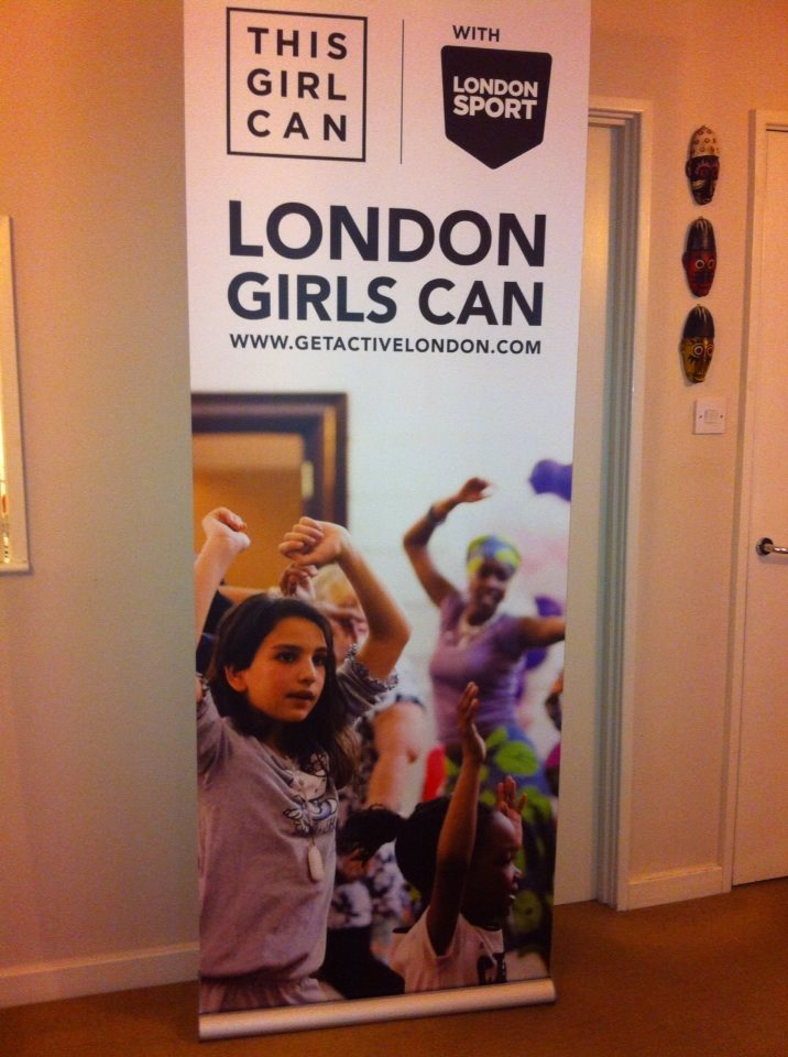This London Girl Can Banner