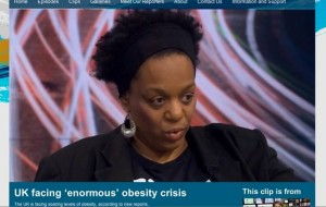 victoria derbyshire show, WHO obesity report, exercise for the overweight, personal trainer fulham,
