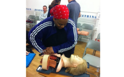 I passed first aid – you are in safe hands!