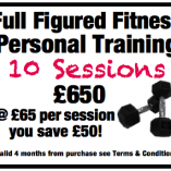 10 personal training full figured fitness