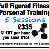 full figured personal training putney